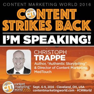 Christoph Trappe at Content Marketing World
