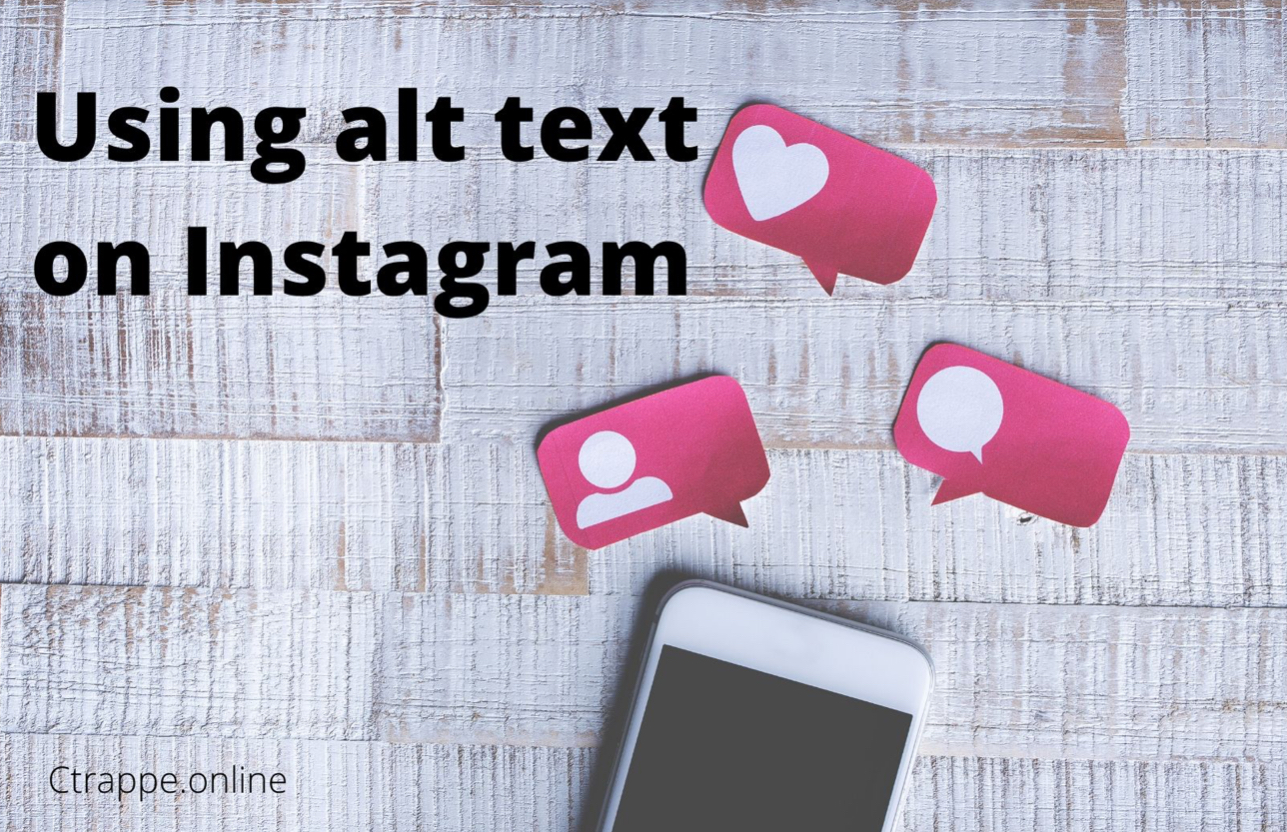 Using Alt text on Instagram