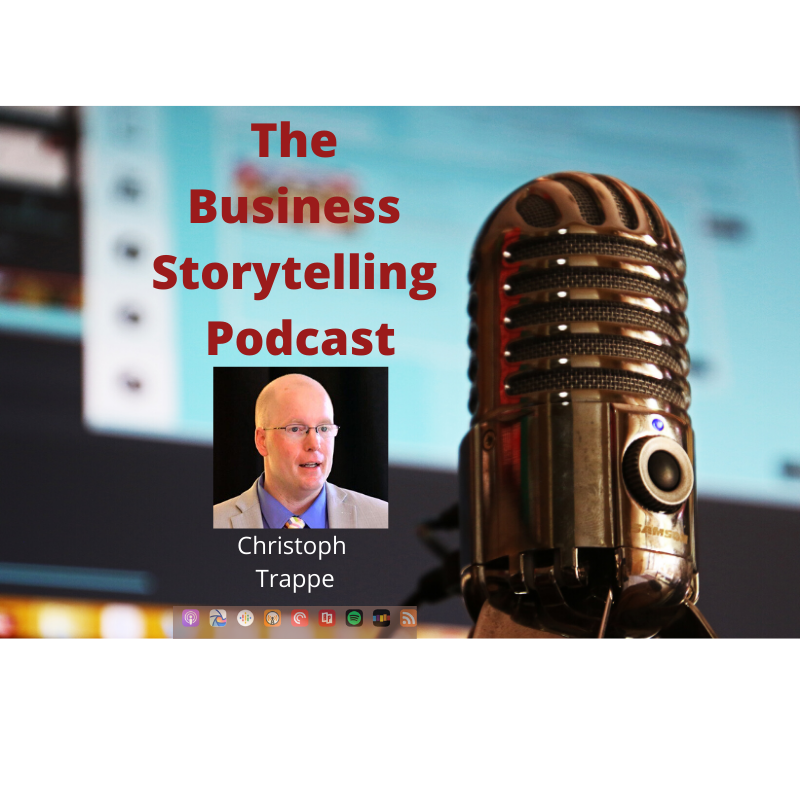 I Business Storytelling Podcast cover art